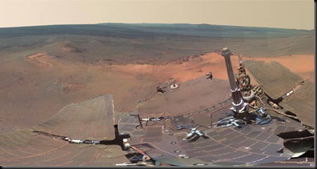 Curiosity-Rover-on-Mars