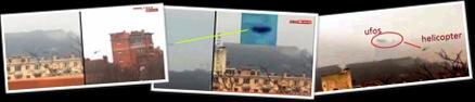 Visualizza ufo e  elicotteri militari