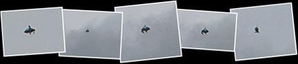 Visualizza ufo su londra