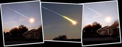 Visualizza meteorite in oklahoma