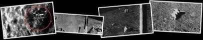 Visualizza ufo luna